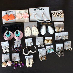 NWOT Misc Bundle of Earrings
